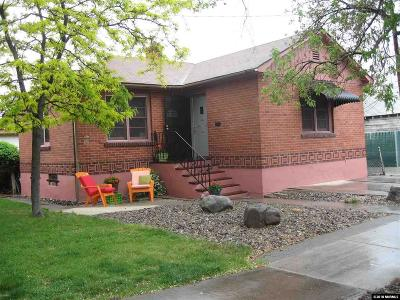 Reno Single Family Home For Sale: 1220 Forest St.