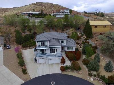 Single Family Home For Sale: 3280 Spanish Springs Court