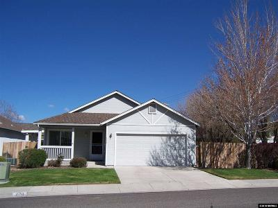 Gardnerville Single Family Home For Sale: 1170 High School