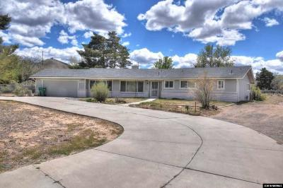 Carson City Single Family Home Active/Pending-Loan: 1701 Koontz