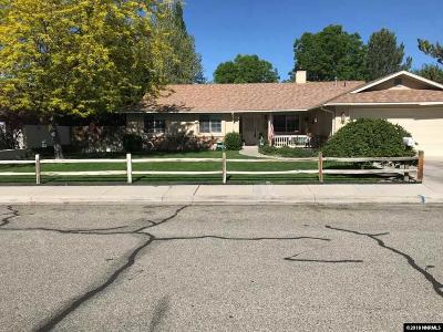 Yerington Single Family Home For Sale: 323 Kay Way
