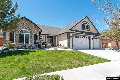 Gardnerville Single Family Home Price Reduced: 1368 Branden Lane