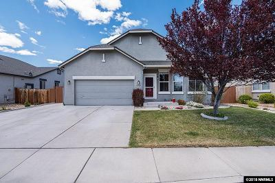 Sparks Single Family Home Active/Pending-House: 5767 Cathedral Peak