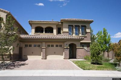 Reno Single Family Home Active/Pending-Loan: 10845 Pentwater Drive
