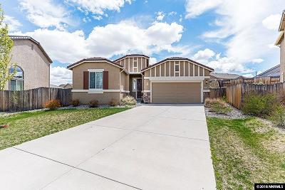 Reno Single Family Home Active/Pending-Loan: 7210 Discovery Court