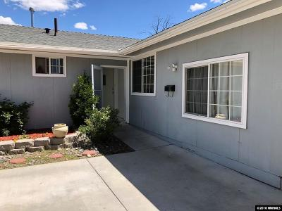 Reno Single Family Home For Sale: 1525 Akard Dr. #---