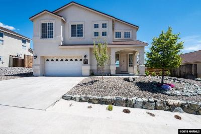 Carson City Single Family Home Active/Pending-Loan: 2621 New Ridge