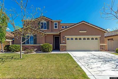 Reno Single Family Home Active/Pending-Loan: 2210 Indian Wells Drive