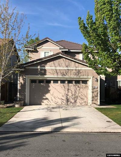 Sparks Single Family Home For Sale: 3823 Artadi Drive