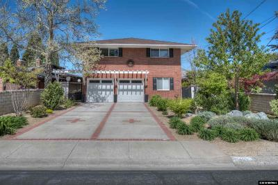 Reno Single Family Home For Sale: 1435 Palisade