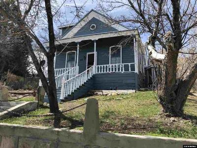 Virginia City Single Family Home For Sale: 198 N B Street