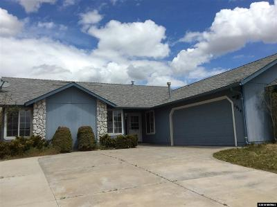 Carson City Single Family Home Active/Pending-Loan: 1014 Sunburst