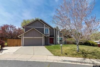 Reno Single Family Home Active/Pending-House: 3889 Belvedere