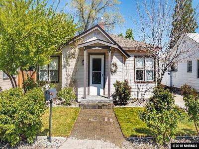Reno Single Family Home Active/Pending-Loan: 1630 Hoyt