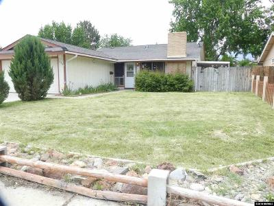 Sparks Single Family Home For Sale: 730 Glen Vista Drive