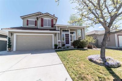 Reno Single Family Home Active/Pending-Loan: 9688 Thunder Mountain Way