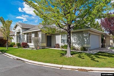 Reno Single Family Home Active/Pending-Loan: 9705 Ripple