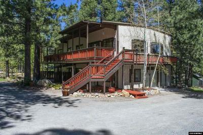Washoe County Single Family Home For Sale: 16805 Evergreen Hills Drive