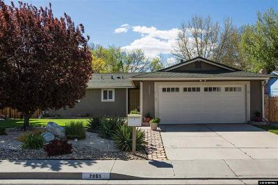 Reno Single Family Home Active/Pending-Loan: 2955 Santa Ana Drive