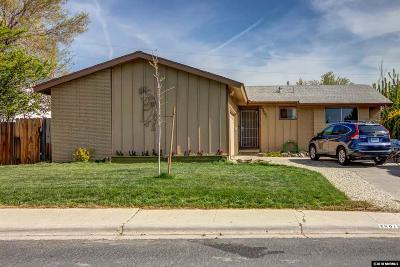 Reno Single Family Home Active/Pending-Loan: 2801 Kings Row