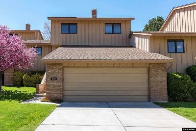 Reno Condo/Townhouse For Sale: 6263 Copper Penny Dr.