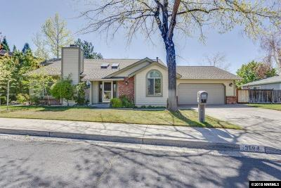 Reno Single Family Home Price Reduced: 3594 Skyline View Drive