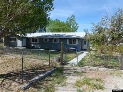 Yerington NV Single Family Home For Sale: $325,000