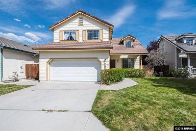 Reno Single Family Home For Sale: 3188 Joshuapark