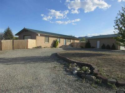 Yerington Single Family Home For Sale: 105 Mason Road