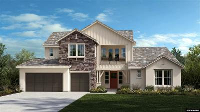 Verdi Single Family Home For Sale: 9050 Boomtown Garson Rd #Lot 173