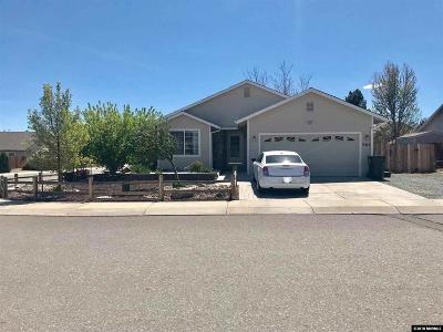 Carson City Single Family Home Active/Pending-Call: 985 Parkview Dr.
