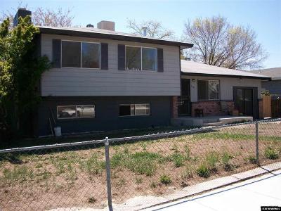 Reno Single Family Home For Sale: 3201 Everett Dr