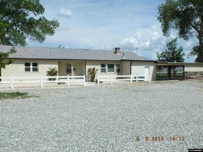 Yerington NV Single Family Home For Sale: $500,000