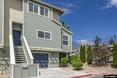 Reno Condo/Townhouse For Sale: 698 Stacie Nicole Ln.