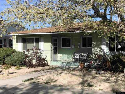 Washoe County Multi Family Home For Sale: 1052 Wright Street