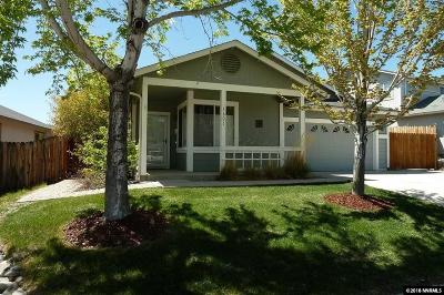 Reno Single Family Home Active/Pending-Loan: 1601 Saturno Heights Drive