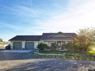 Fernley Single Family Home For Sale: 1825 Highland