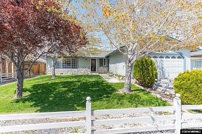 Carson City Single Family Home For Sale: 1222 Spooner Drive