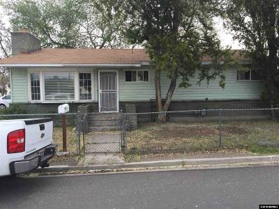 Sparks Single Family Home Active/Pending-Loan: 911 12th Street