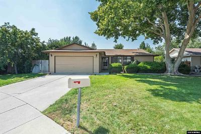 Sparks Single Family Home Active/Pending-House: 3127 Montezuma Way