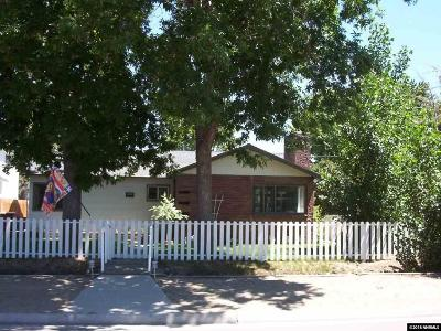 Minden Single Family Home Active/Pending-Loan: 1551 County Rd