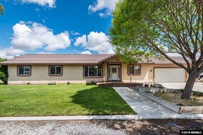 Fernley Single Family Home For Sale: 727 Rose
