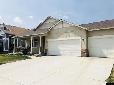 Fernley Single Family Home For Sale: 1514 Crest View