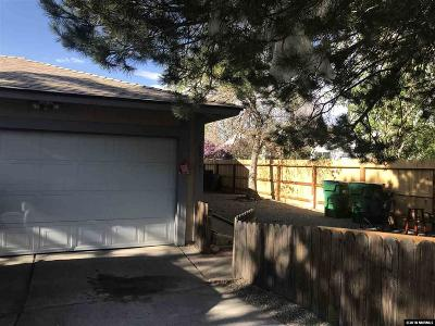 Reno Single Family Home Active/Pending-Loan: 6817 Flower