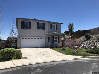 Single Family Home Active/Pending-Loan: 8820 Silver Dawn Court