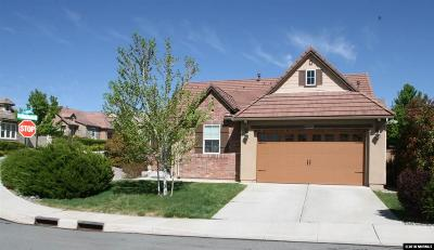 Sparks Single Family Home Active/Pending-Loan: 5259 Skystone
