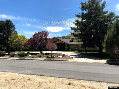 Carson City Single Family Home For Sale: 2247 W Washington Street