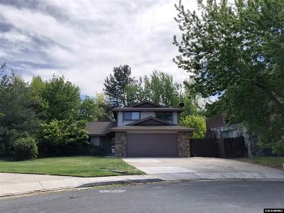 Reno Single Family Home For Sale: 2230 Trentham Way