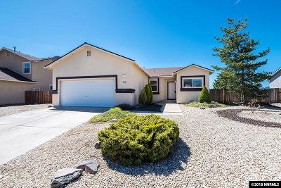 Reno Single Family Home For Sale: 21112 Mount Evans Ct