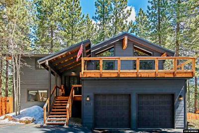 Incline Village Single Family Home For Sale: 678 14th Green Drive